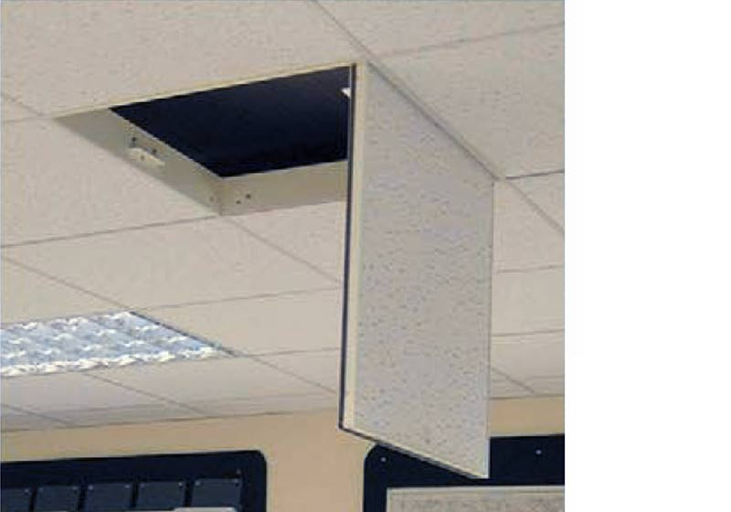 Profab 5000 Series steel access panel for suspended grid system tiled ceilings