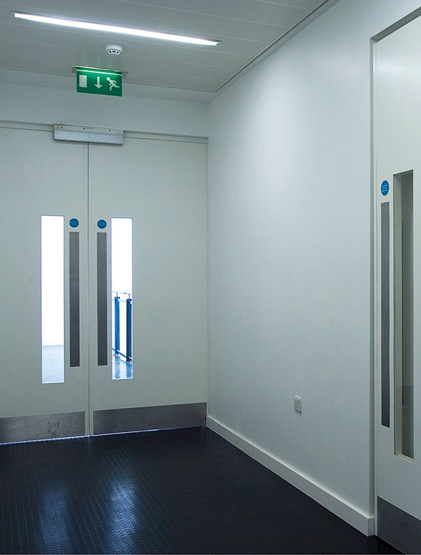 PRO INNA DOR - Double security doorset for internal application