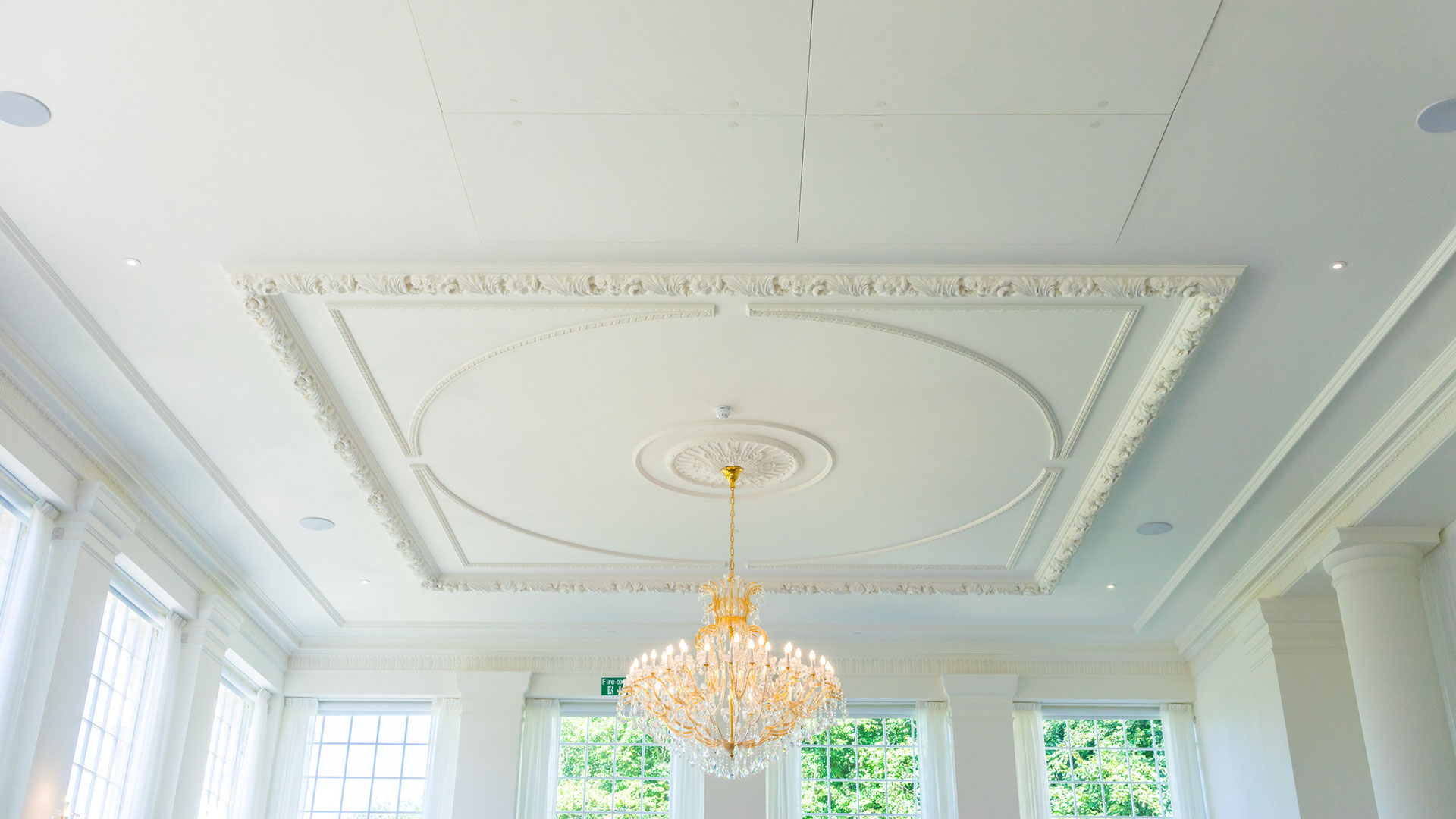 rushton hall ceiling access panels